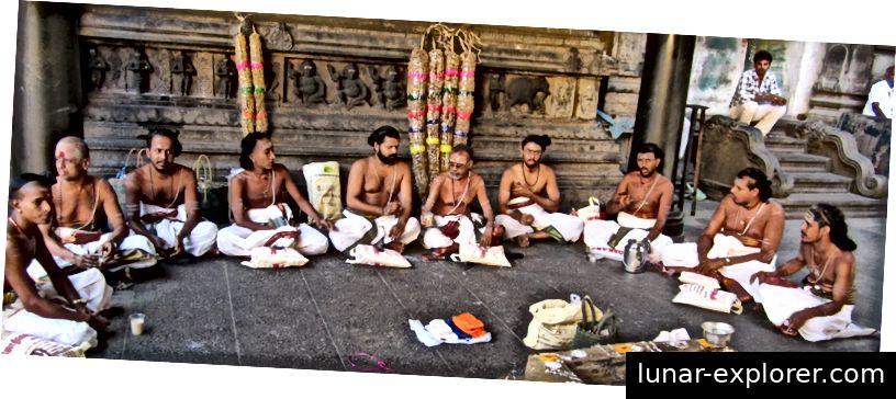 Deekshidars bei Chidambaram