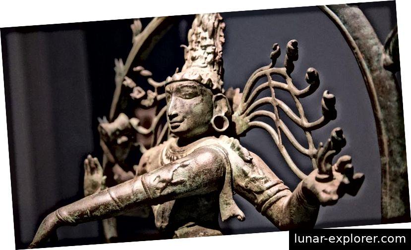 Idol von Lord Nataraja