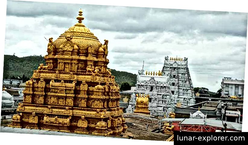 Balaji-Tempel, Tirupathi