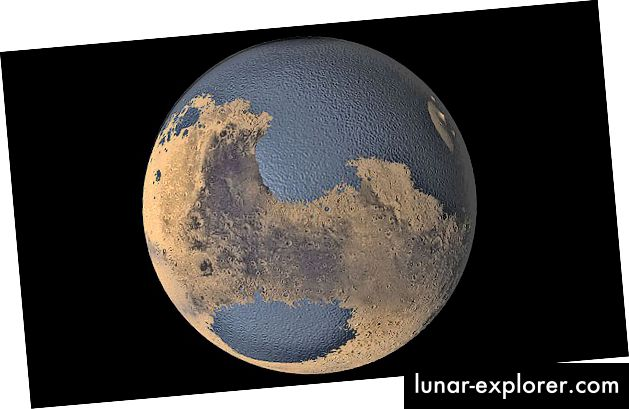 Mars je nekad imao oceane! Tada je izgubila magnetosferu :(