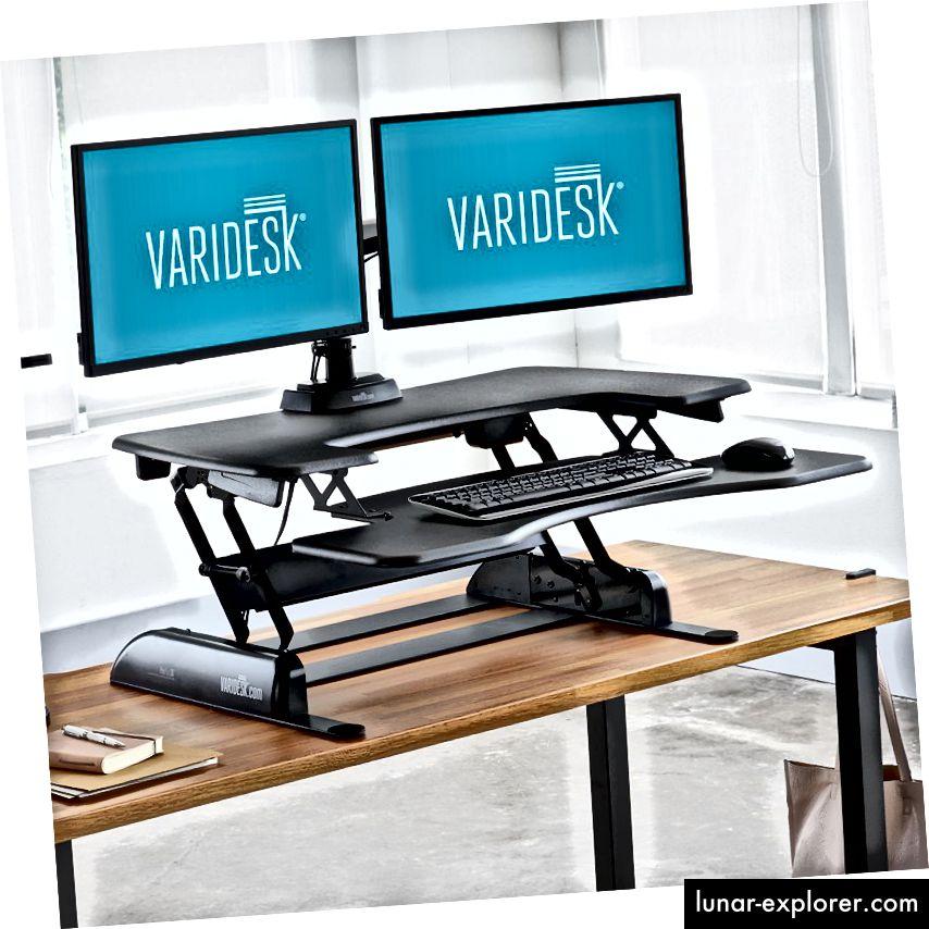 Ovo je stojni stol koji koristim. Preporučio bih ga, osim, dobro, čitajte dalje