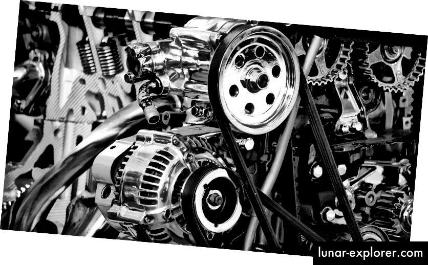 Koristite li kanalnu vrpcu na motorima automobila? Iskreno ne znam da bi ovo mogla biti strašna analogija