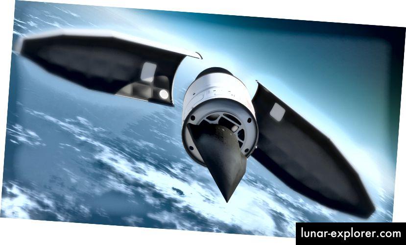 Izrada prototipa DARPA-ovog hipersoničnog projektila HTV-2 (DARPA / DOD)