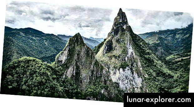 Fura- und Tena-Berge in Kolumbien