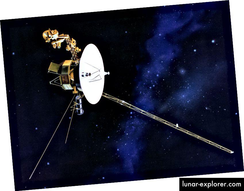 Svemirska letjelica Voyager lansirana 1977. i dalje djeluje. Izvor: Wikipedia