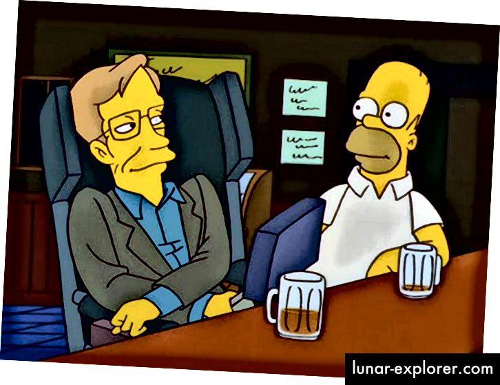 Stephen Hawking iz Simpsona