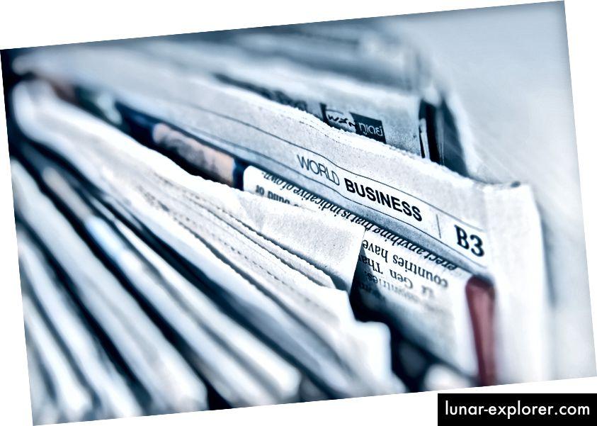 Traurigerweise verkaufen sich wahrheitsgemäße Schlagzeilen weniger Zeitungen
