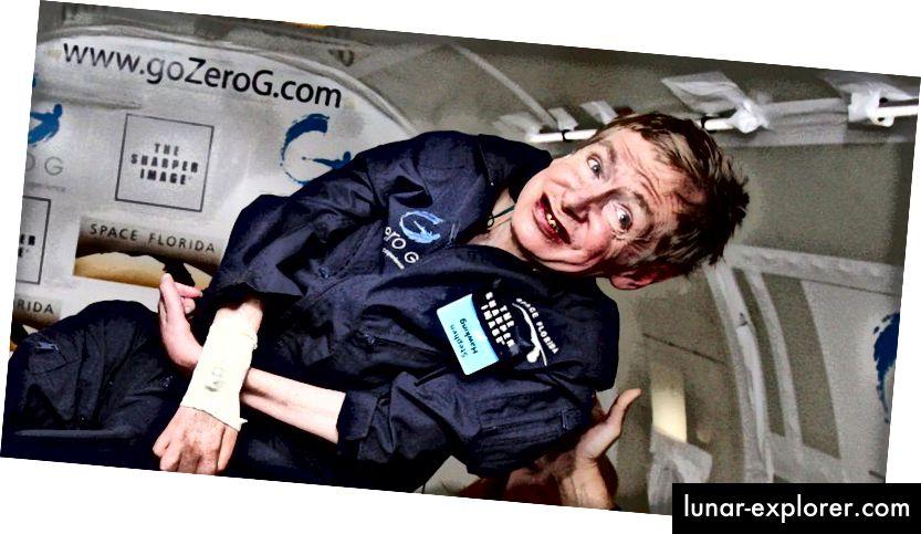 Stephen Hawking, prije 11 godina, izveo je let nulte gravitacije kako bi iskusio osjećaj beztežnosti. Kako je rekao Hawking,