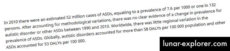 """Wissenschaftsgespräch über """"Autismusraten sind gleich geblieben"""""""