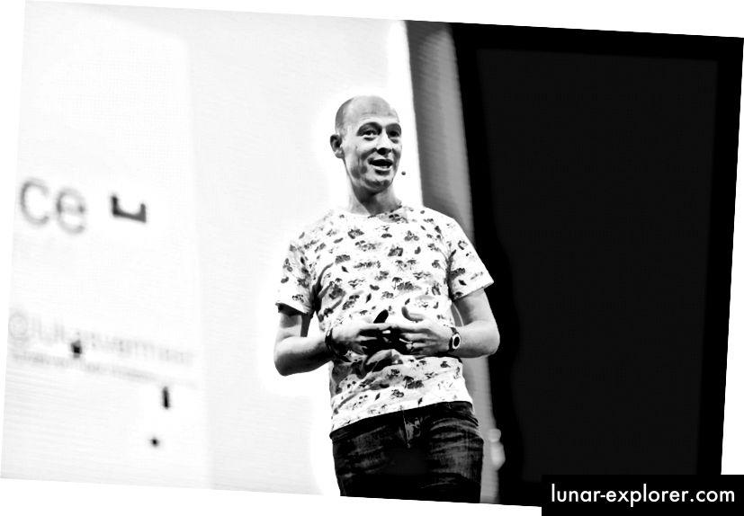 Lukas Vermeer spricht beim Marketing Festival 2016
