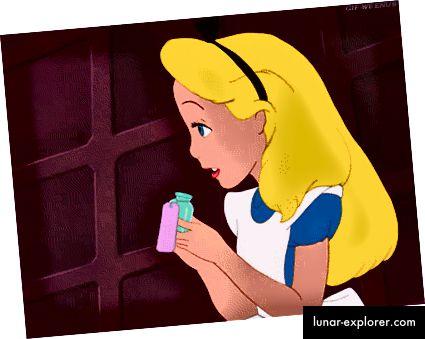 Alice würde in einem bemerkenswerten Ausmaß an Schmerzen sein.