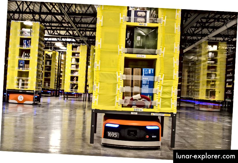 Amazon Robotics Warehouse