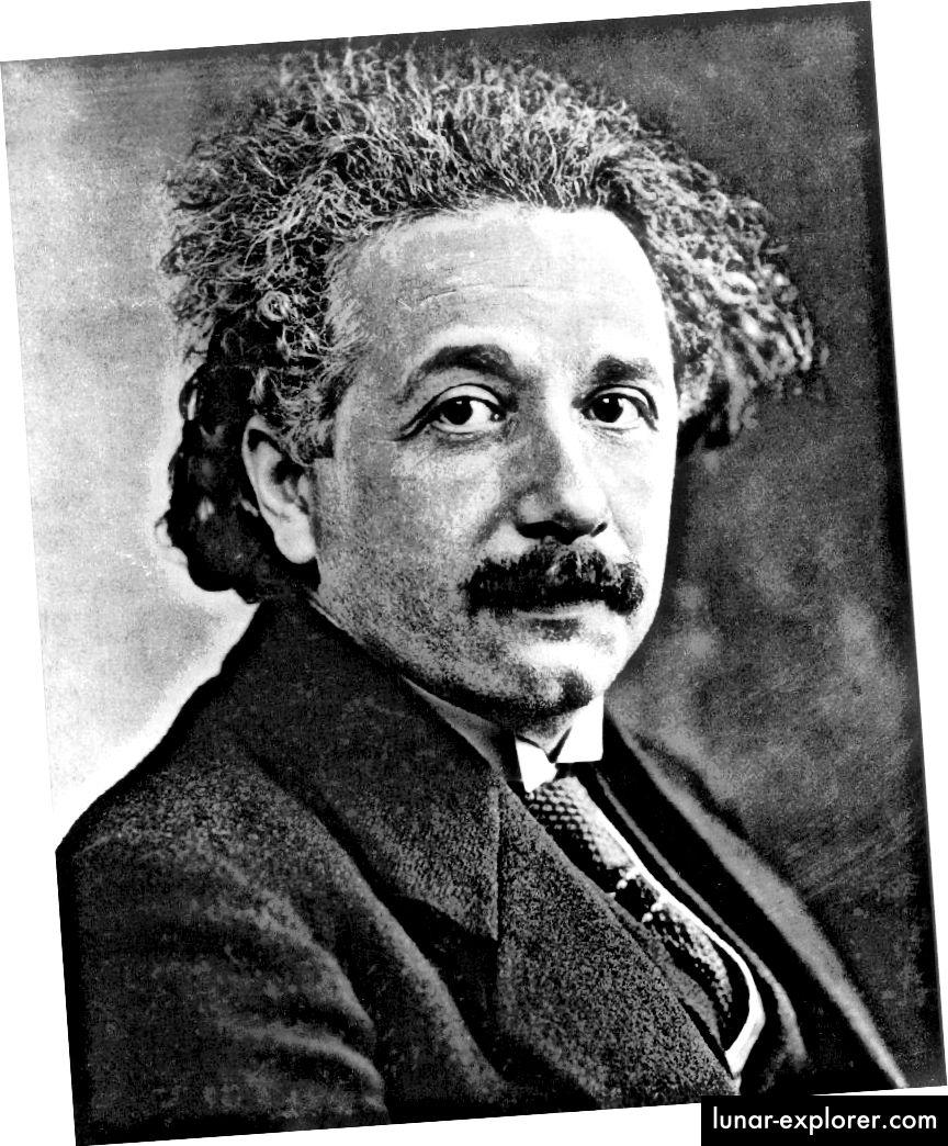 Einstein je formulirao svoju Opću teoriju u dobi od 36 godina