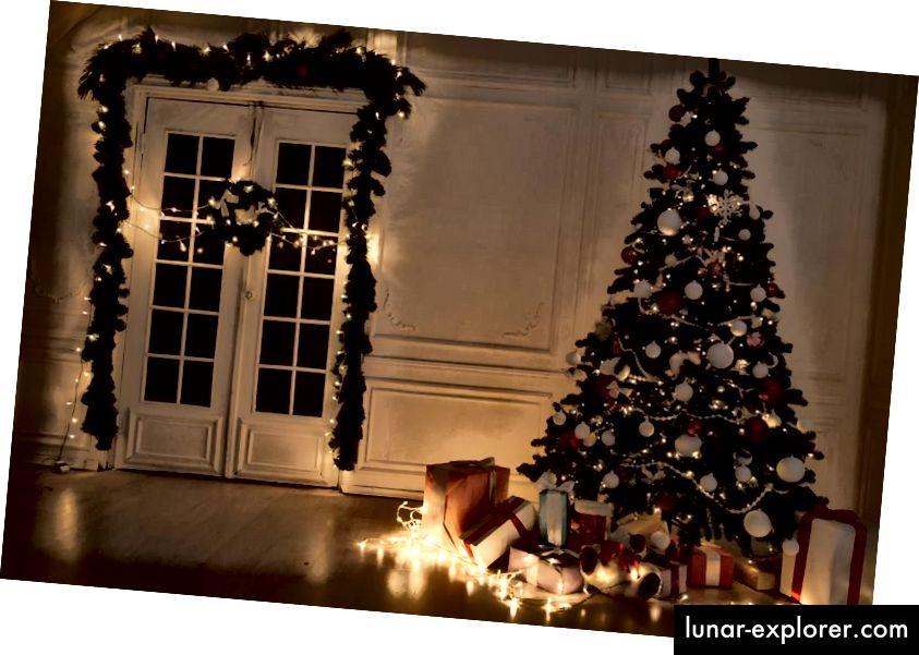 Dengan hanya tiba dengan membawa hadiah di lokasi yang tepat, mengantarkan hadiah Natal mungkin secepat dan semudah Santa hanya melepaskan paket yang dibawanya ke rumah. (GETTY)