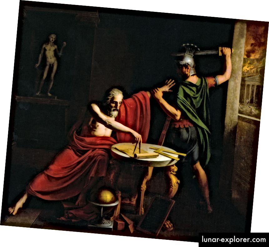 Tod des Archimedes