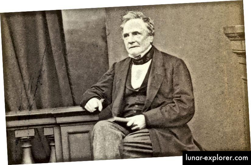 Charles Babbage, Mathematiker und Ingenieur.