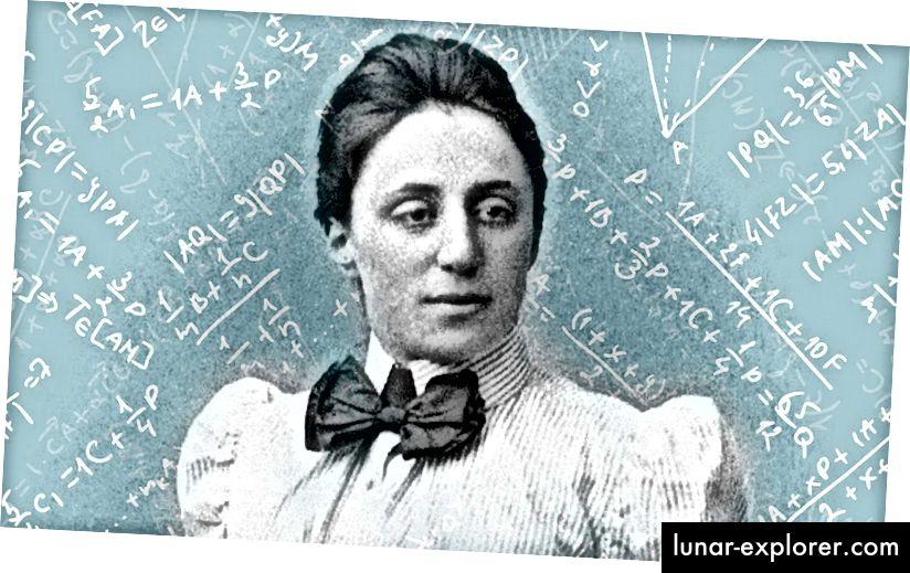 Das bedeutende Genie: Emmy Noether