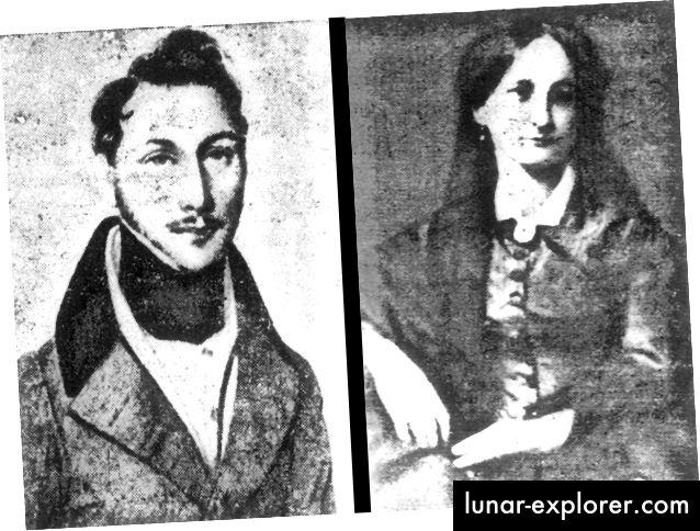 Il padre e la madre di Cantor, G.W. e Marie Cantor