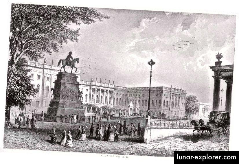 Università Humboldt di Berlino nel 1850 (poi Università Friedrich Wilhelm)