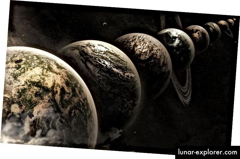 Ideja multiverzuma kaže da postoji jedan proizvoljno veliki broj Univerzuma poput našeg, ugrađenih u naš Multiverse. Moguće je, ali nije nužno, i da postoje drugi džepovi u Multiverseu tamo gdje su zakoni fizike različiti.