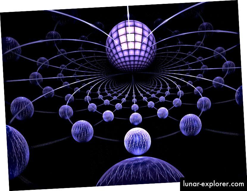 Az olyan ötletek elfogadása, mint a húrelmélet, azt jelenti, hogy készen kell állnunk arra, hogy további dimenziókat és az egyre furcsabb világokat elfogadjunk. Art by SGP