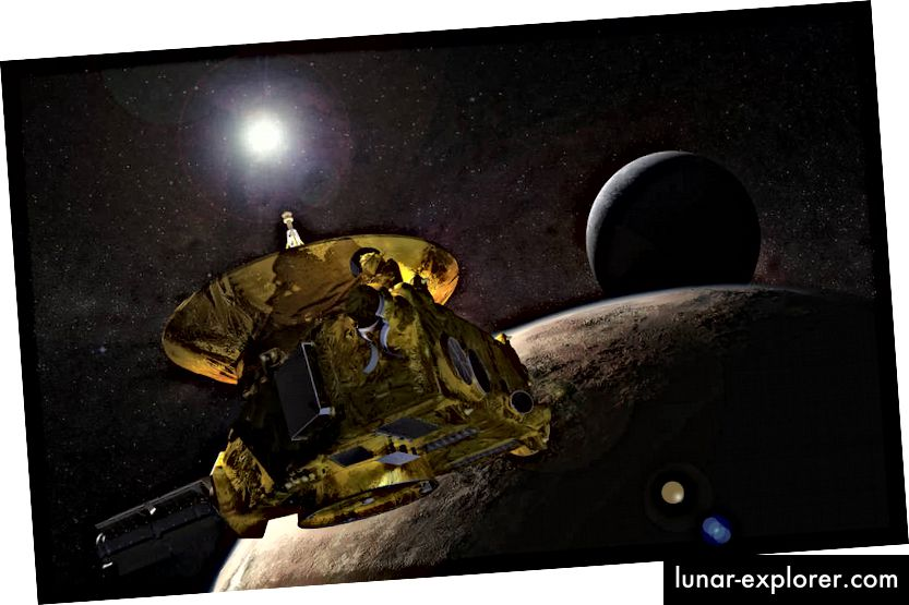 The New Horizons Spacecraft (Crediti immagine: NASA)