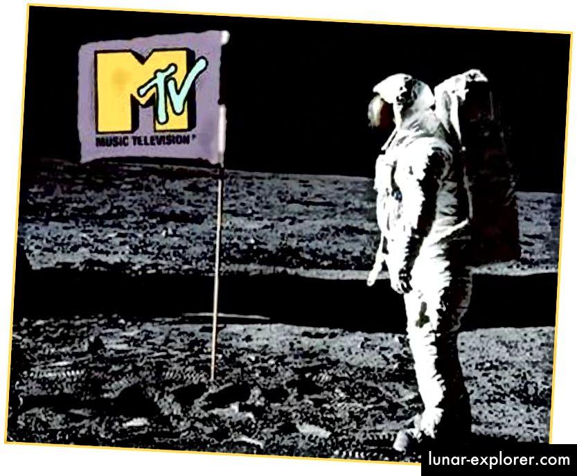 """Скалата на луната дойде много преди """"Скачайте гласа""""."""