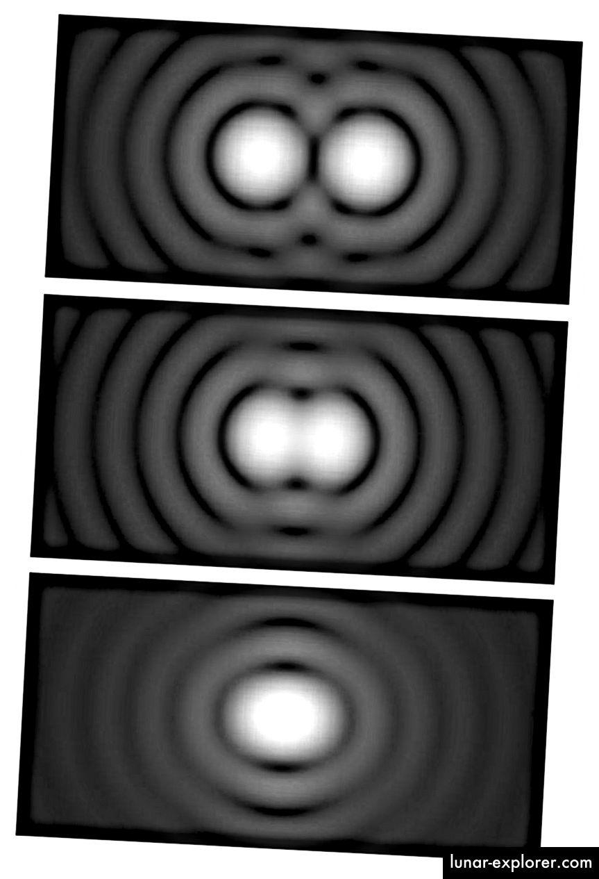 Ograničenja razlučivosti određena su iz tri faktora: promjerom vašeg teleskopa, valnom dužinom svjetla u kojem gledate i kvalitetom vaše optike. Ako imate savršenu optiku, možete se riješiti sve do Rayleiggove granice koja vam daje najveću moguću razlučivost koju dopušta fizika. (SPENCER BLIVEN / JAVNI DOMAĆIN)