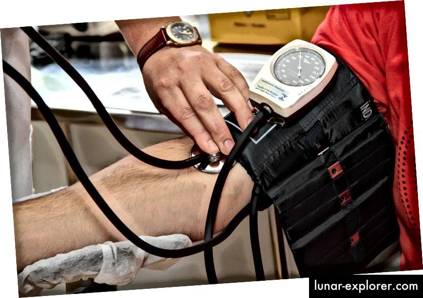 Zabavna činjenica - uređaj za testiranje krvnog tlaka naziva se sfigmomanometar Izvor: Pexels
