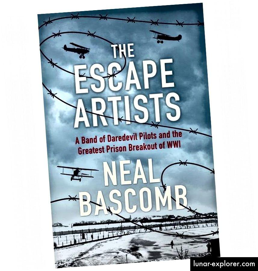 A börtönszünetről, valamint a tudomány és a történelem összeolvadásáról szóló könyvről szól Neal Bascomb The Escape Artists című könyve, amely az egyik legjobb nem-fantasztikus történet, amit valaha kérdezett a témában. (NEAL BASCOMB / HACHETTE)
