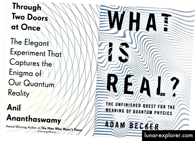 Te su dvije knjige, u bilo kojoj drugoj godini, mogle lako biti najbolja knjiga o kvantnoj fizici sama. Na popisima mnogih drugih, možda i na vašim, bit će. (ANIL ANANTHASWAMY / DUTTON AND ADAM BECKER / OSNOVNE KNJIGE)