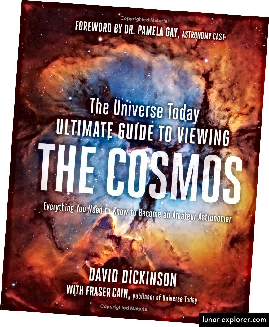 Ako ste ikada željeli naučiti kako započeti (ili prijeći od početnika do srednjeg ili srednjeg do naprednog) dvogledom, teleskopom ili čak astronomijom golim okom, ova je knjiga vodič koji ste tražili. (OBJAVA DAVID DICKINSON & FRASER CAIN / STRAGE ULICA)