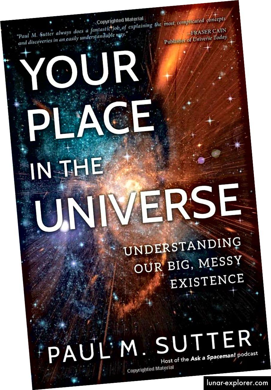 Ako ste ikada poželjeli knjigu koja je pokrivala cijelo postojanje i kako smo otkrili Svemir na jednostavan za čitanje, dostupan, prijateljski i neposredan način, vaše mjesto u svemiru zadovoljit će vas kao najbolji izbor 2018. (PAUL MATT KNJIGE SUTER / PROMETE)