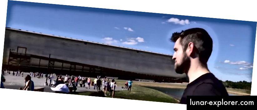 المؤلف في Ark Encounter في عام 2015