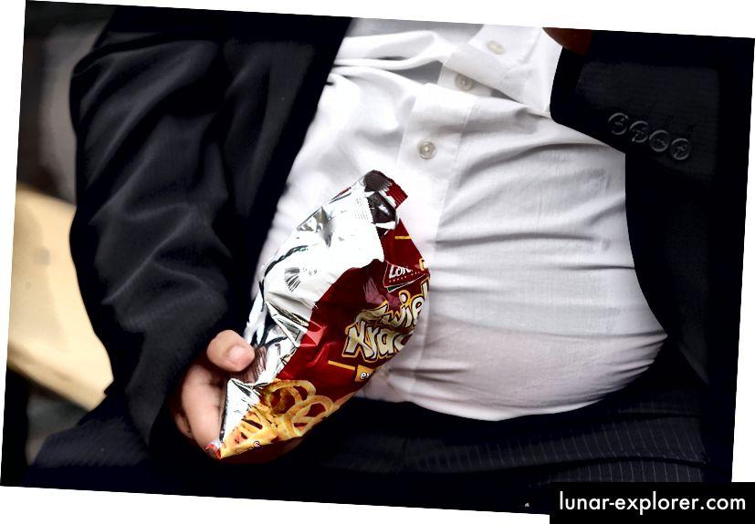 Нежелана храна може да бъде допринасящ фактор, но активирането на определени гени също е твърде. Снимка: Шон Галъп / Гети Имидж