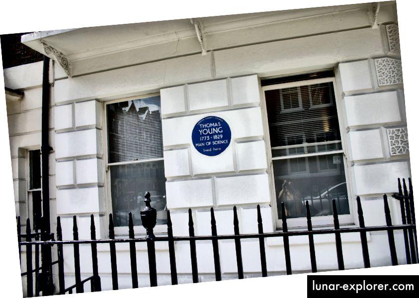 Възпоменателна плоча @ Street Welbeck 48, Лондон