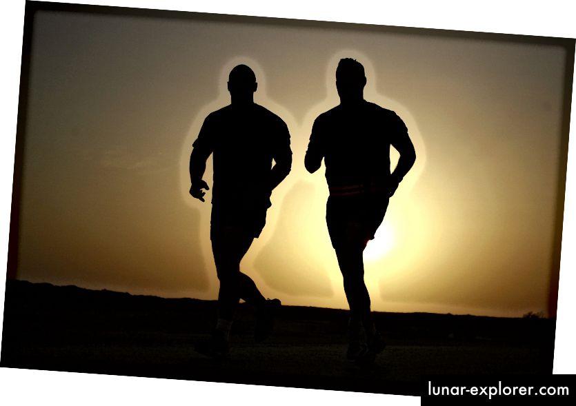 Courir est bon pour tout le monde. Plus la pitié