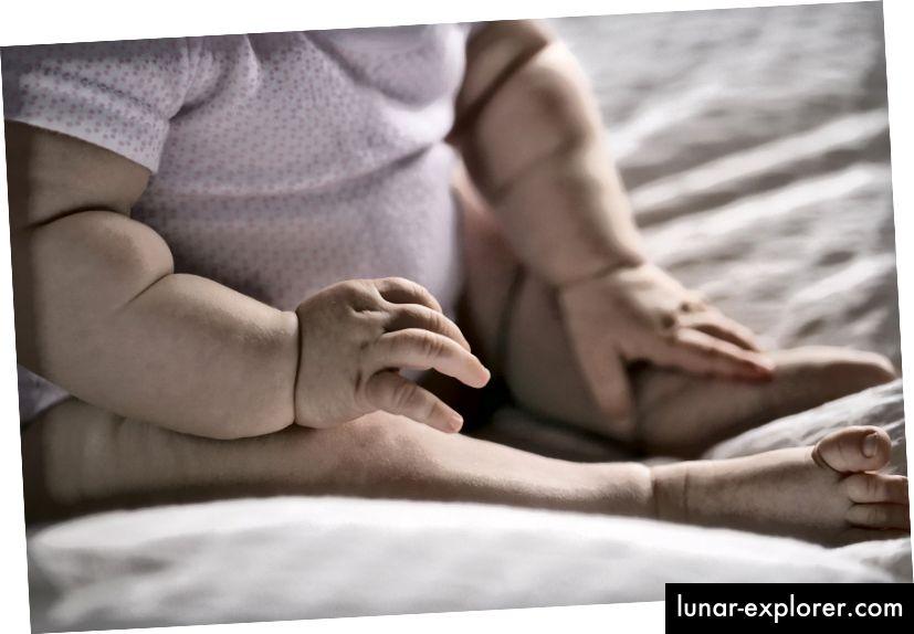 Imikute kohmakus pakub evolutsioonilist eelist. Foto: paula sierra / Hetk / Getty Images
