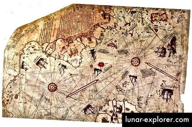 La mappa di Piri Reis