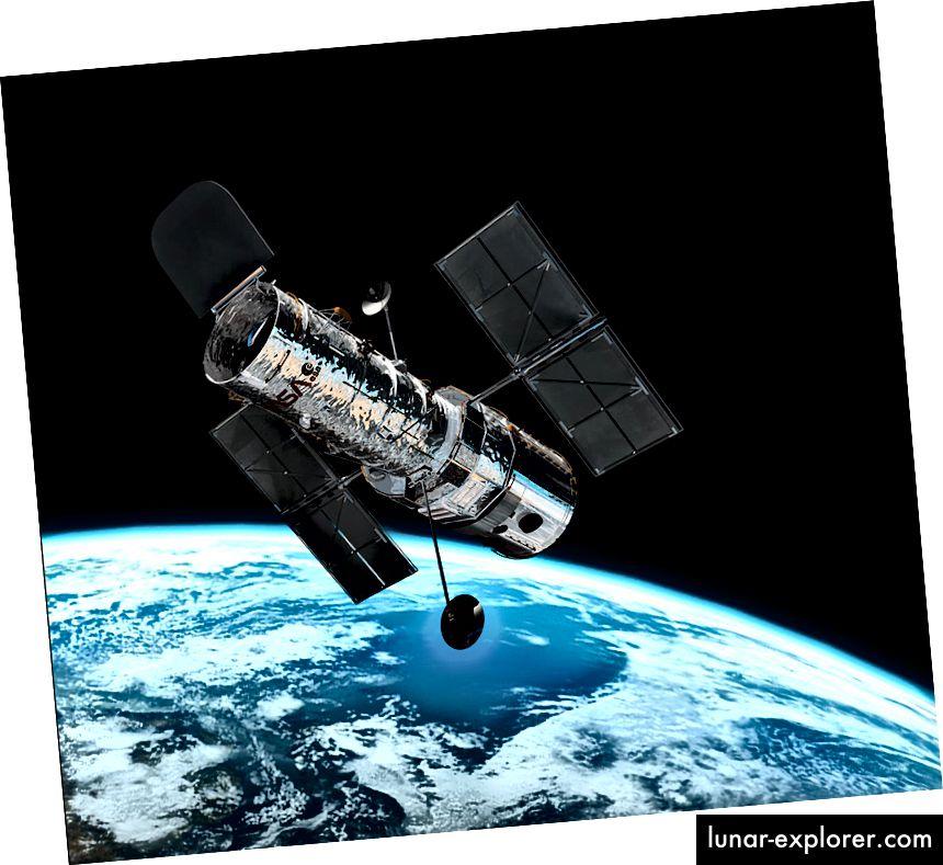 Teleskop Luar Angkasa Hubble (saya dapat melihat rumah saya dari sini!)