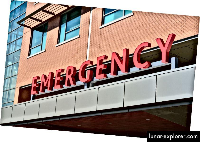 Es difícil llegar a una farmacia fuera del hospital si nunca se fue en primer lugar Fuente: Pexels