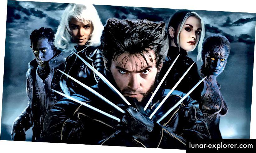 بدون طفرات ، لن يكون لدينا طفرات ، وبدون طفرات ، لن يكون لدينا امتياز X-men.