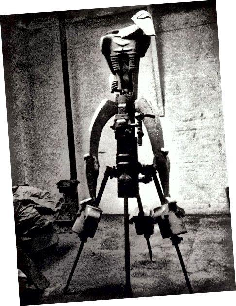 Obեյքոբ Էպշտեյնի «Rock Drill» քանդակը (1913)