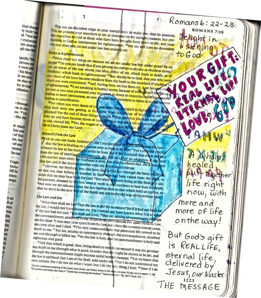 Bibelkunst von Janis Cox. Mehr erfahren.