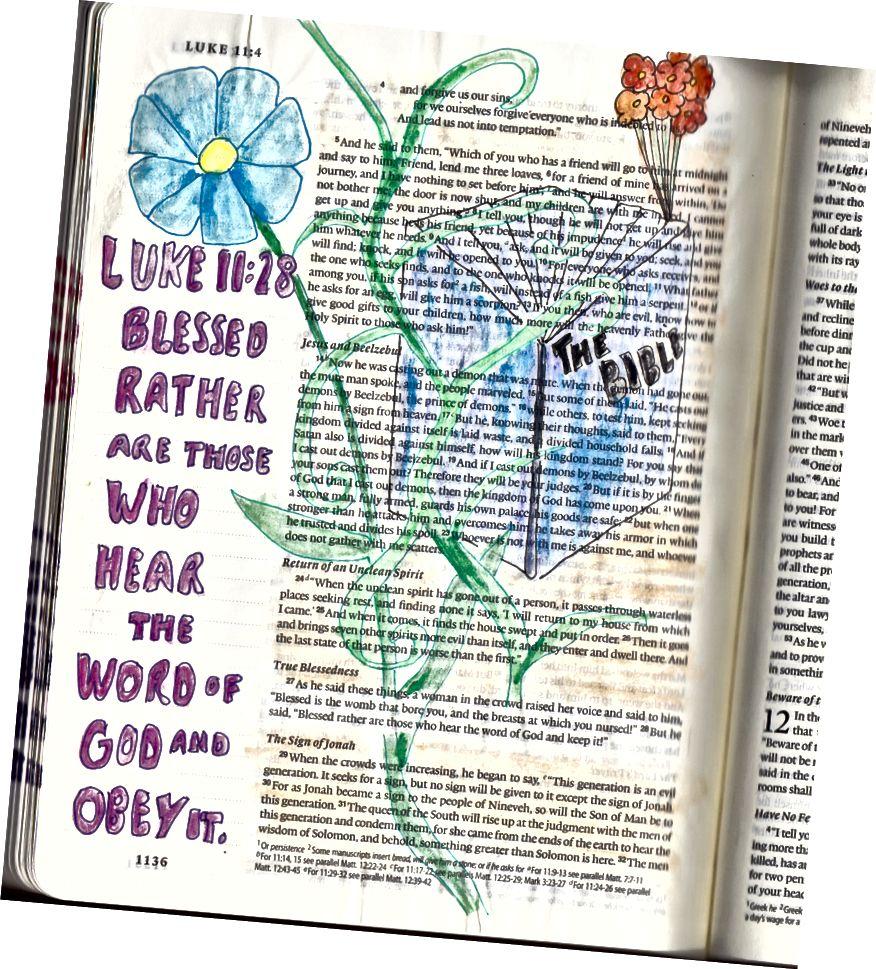 Bibelkunst von Janis