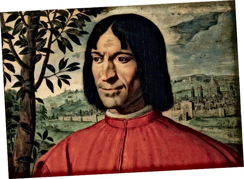 Lorenzo kimi möhtəşəm olun. Luigi Fiammingonun portreti.