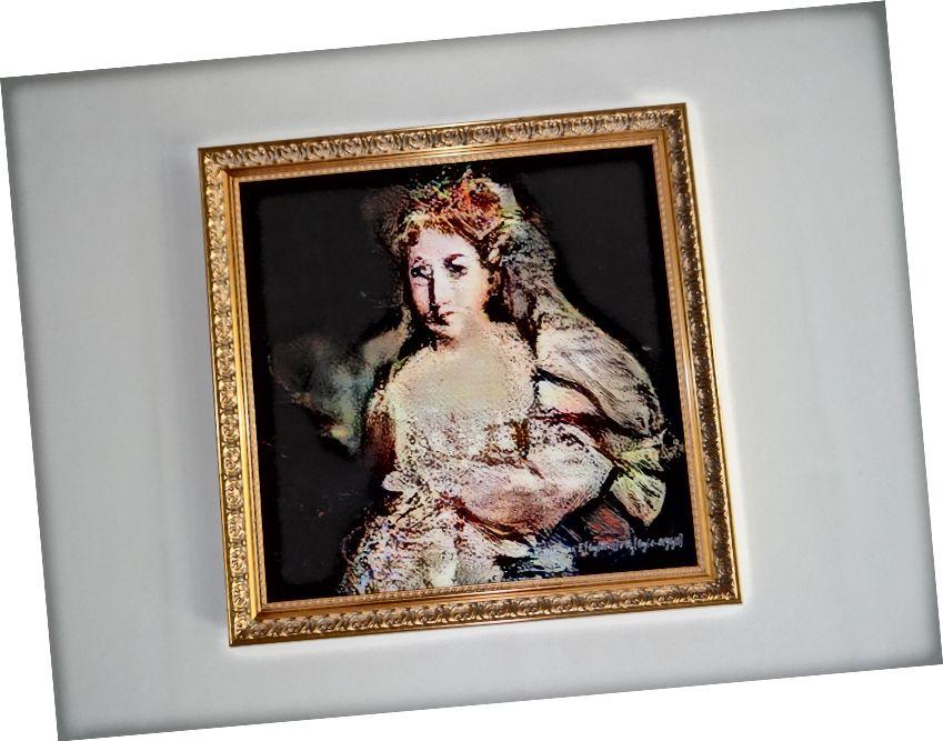 """""""La Comtesse de Belamy"""", umelecké dielo vytvorené pomocou umelej inteligencie"""