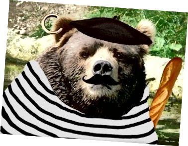 """Francouzský """"medvěd""""…"""