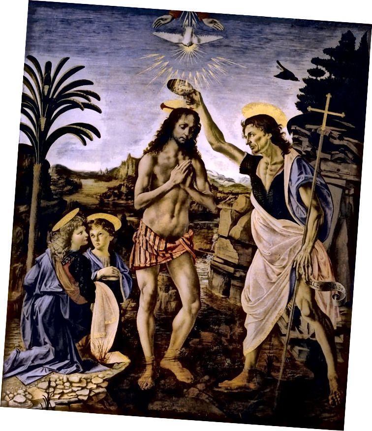 Անդրեա դել Վերրոչիոյի «Քրիստոսի մկրտությունը»