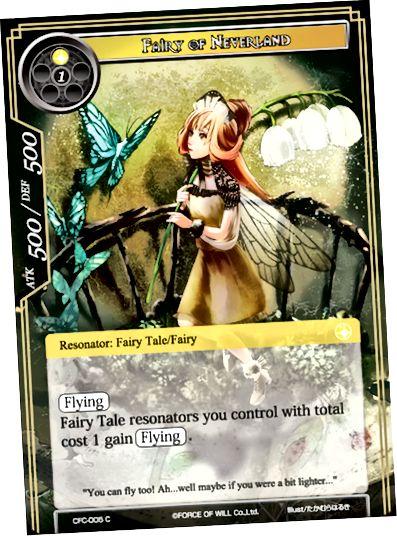 První karta síly vůle, FWCFCFAIRYOC, také známá jako Pohádka z Neverlandu